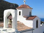 Evangelismos-luostari on rauhan tyyssija.