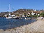 Grikosin uimarannalla on rauhallista tilaa.