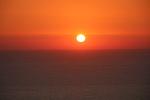 Auringonlasku nähtynä Profeetta Iliaksen vuorelta.