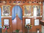 Paisios Suurelle omistettu Pyhän Hengen kappeli Skalassa.