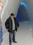 Vuoroin vieraissa: isäntämme Theologos SnowVillagessa Kolarissa tammikuussa 2013.